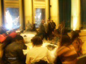 What a lively and memorab,le event it was at the Nottingham Town House